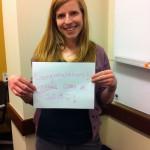 PR Assistant Rachel Cronin