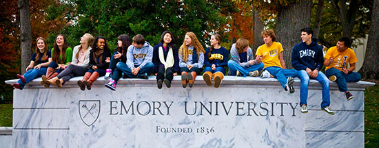 emory university application essay