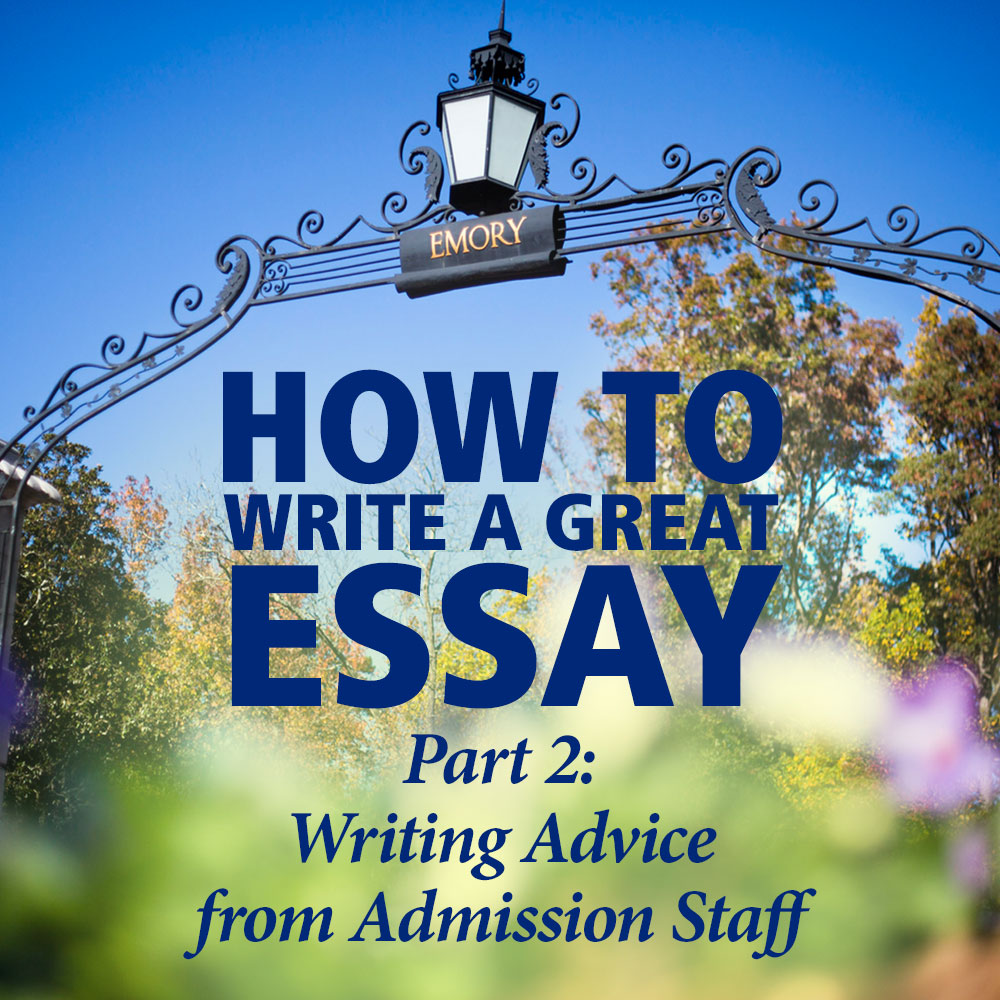 great admission essay Do you want to pick unique college application essay topics if you follow useful tips given below, you will choose an interesting subject for your paper.