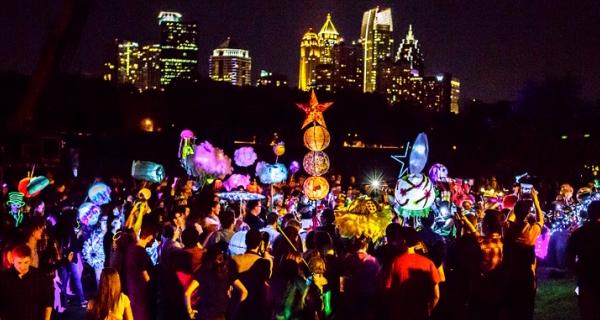 Atlanta BeltLine Lantern Parade September 12, 2015 photos by Christopher T Martin