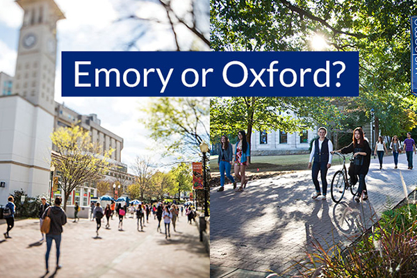 Emory or Oxford - Which school is right for me?